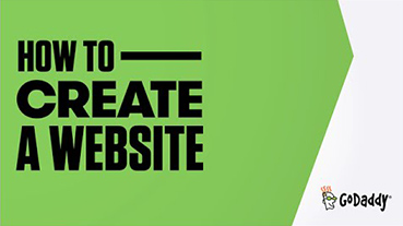 GoDaddy (How to create a website)